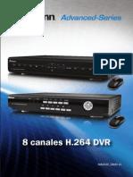 Swann DVR8 2550&2600 Instructions Spanish