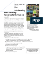 Instructors Guides for Teaching Organic Gardening