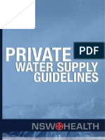 Private Water Supply Guidelines