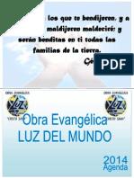 Agenda 2014 Luz Del Mundo