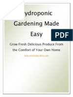 Hydroponic Gardening Made Easy - Hydroponics Growing Guide