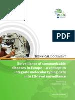Surveillance Concept Molecular Typing Sept2011