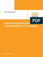 Sisteme de protecţie la fenomene tranzitorii şi la trăsnet