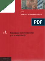 Tomo 2 Tratado de rehabilitación Metodología de la restauración y de la rehabilitación