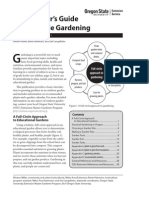 An Educator's Guide to Vegetable Gardening
