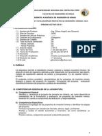 FORMULACIÓN DE PROYECTOS 2014- I