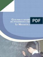 Guia para el desarrollo del pensamiento a través de la matematica