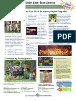 """Avenue D Summer Program 2014 """"Pueblos Tainos"""""""