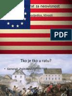 Američki rat za neovisnost