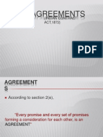 Void Agreements and Contingent Contracts