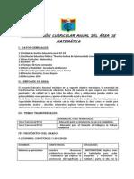 PROGRAMACIÓN ANUAL DE MATEMÁTICA 4_2014_Ccesa