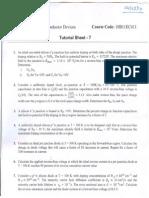 Solution of Tutorial Sheet 7
