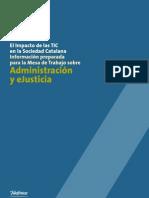 Las TIC, la Administración y la Justicia - Telefónica