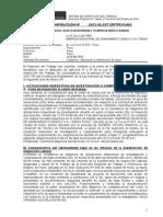 ACTA DE INFRACCION N° 06 EXP N°137-2012 EMSA PUNO CELIA VIRGINIA CAZORLA (OFICIAL)