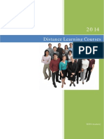 Distance Learning Courses DLEN