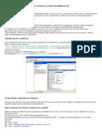 Los Servicios en Microsoft Windows XP