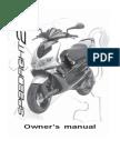 Peugeot 100 Speedfight 2 Owners Maintenance Manual