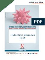 Dossier de presse régional - Guyane - SIDACTION 2014