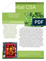 March 2014 Herbal CSA Newsletter.docx