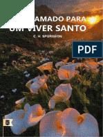 UM CHAMADO PARA UM VIVER SANTO - Sermão de C.H.SPURGEON