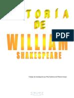 Trabajo de investigación de la autoría de William Shakespeare