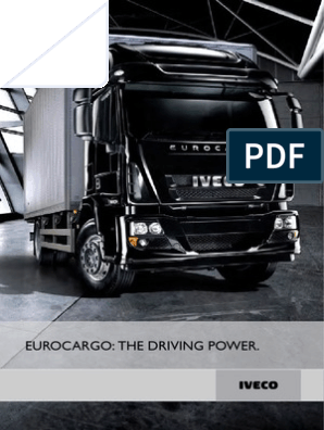 iveco eurocargo specification pdf | Manual Transmission