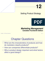 14 CE Chapter 12 - Setting Product Strategy