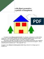 Casa Din Figuri Geometric e