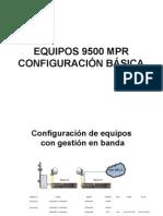 Configuración Enlaces 9500MPR