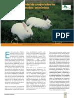 Efectos de La Desidad de Los Conejos Sobre Los Resultados Tecnico Economicos