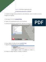 QRDAT - guia de instalación en XO-1.5
