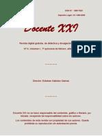 Revista digital gratuita, de didáctica y divulgación científica. Nº4, 1ª quincena de febrero de 2010