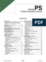 2007 Nissan Quest Power Steering Repair Manual