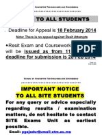 Appeal Notice