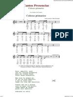 Colores Primarios - Cantos de Presencias de Musica