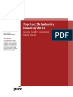 Pwc Top Health Industry Issues of 2014