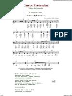Niños del mundo - Cantos de Presencias de Musica