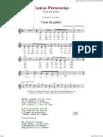 Tren de Patio - Cantos de Presencias de Musica