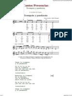 Trompeta y Pandereta - Cantos de Presencias de Musica