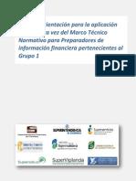 Guia de Aplicacion Primera Vez NIIF Preparadores de Informacion Financiera Grupo 1