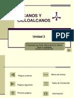 Unidad 3 Alcanos y Cicloalcanos