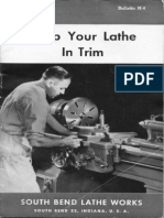 Keep Your Lathe in Trim H-4