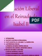 Tema 7. Isabel II. Revolucion Liberal en El Reinado de Isabel II