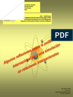 HUGO MARTIN ATOMICA CORDOBA SIMULACION RELACIONES INTERNACIONALES 2014