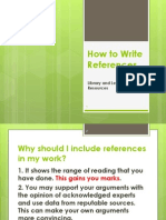 Lab1 How to Write References