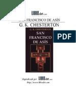 [G. K. Chesterton] San Francisco de Asis (Spanish (Bookos.org)