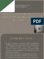 Plan de Gestion de RRSS Del HRI 2014