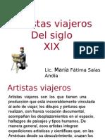Artistas Viajeros del Siglo XIX