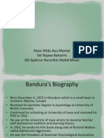 Theory Bandura