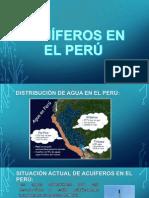 ACUÍFEROS EN EL PERÚ.pptx